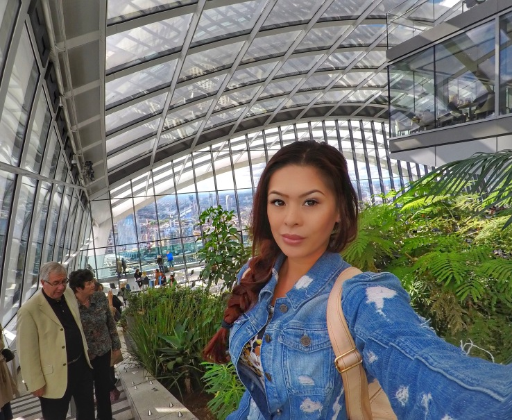 Selfie at the Sky Garden