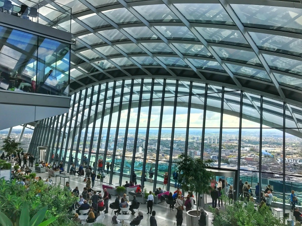 Sky Garden from upstairs